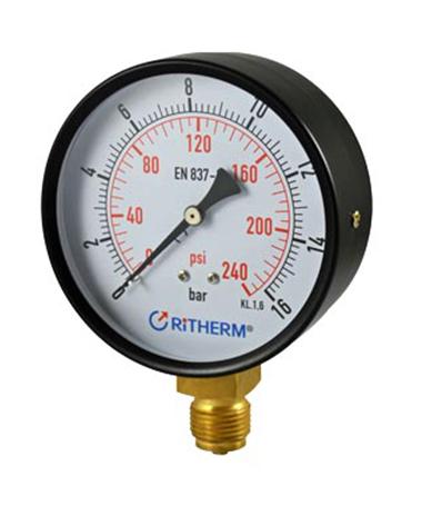 1100 Dry or utility pressure gauge