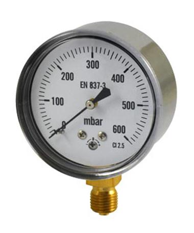 1400 Capsule low pressure gauge
