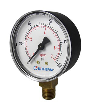 1133 ABS case pressure gauge