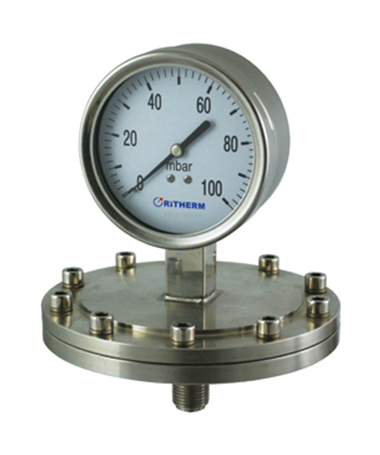 1450 All stainless steel  diaphragm gauge