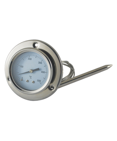 2440 Gas expansion oven thermometer in all stainless steel design