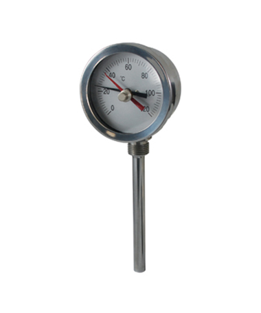 2333 Stainless steel bimetal thermometer with indicator
