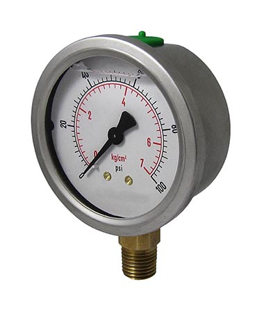 1204 Vibration proof pressure gauge