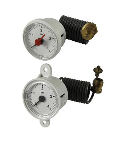 1140 HVAC capillary pressure gauge