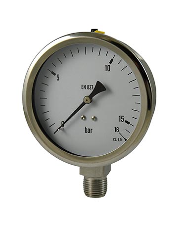 1305 All stainless steel  Vibration proof pressure gauge