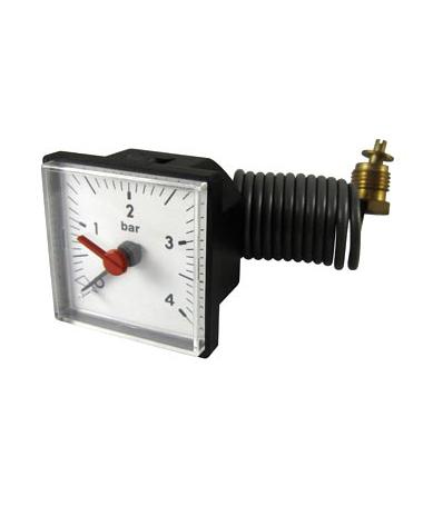 1143 HVAC capillary pressure gauge