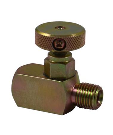 1965.02 Mini CS needle valve,male x female