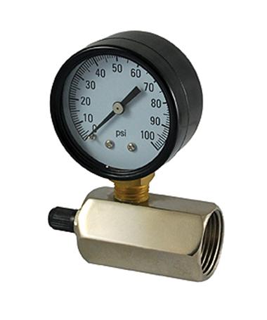 1160 Gas test pressure gauge