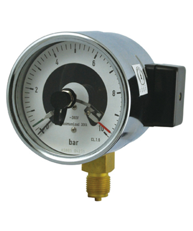 1705 Magnetic electric contact  pressure gauge