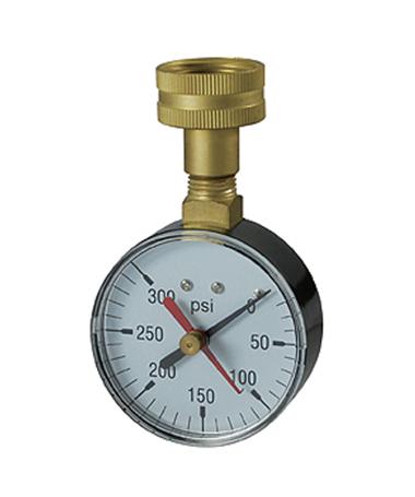 1161 Water test pressure gauge
