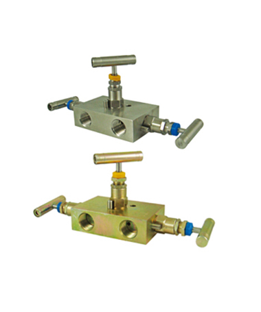 1980.30 3 way  valve manifold