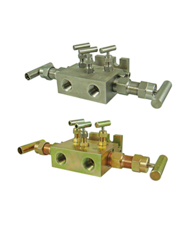 1980.50 5 way  valve manifold