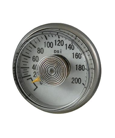 1185 Spiral tube pressure gauge