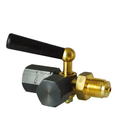 1950.03 DIN standars gauge cock, 3 way
