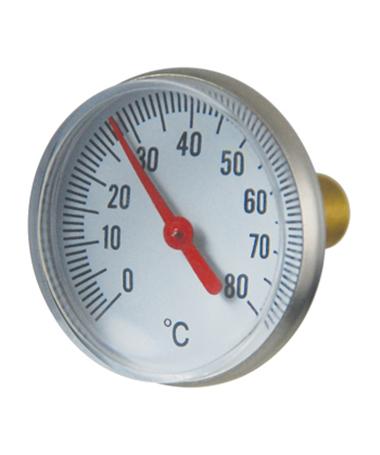 2302 ball valve bimetal thermometer