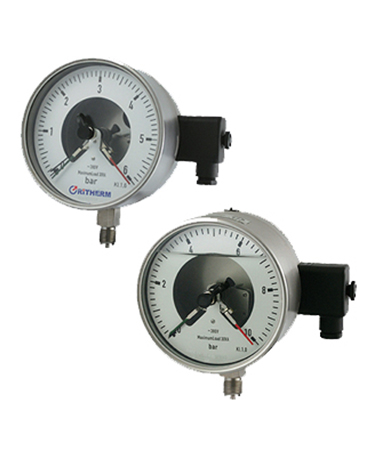1713 All stainless steel electric  contact pressure gauge
