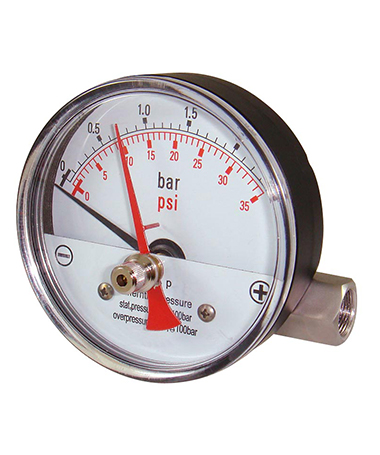 1640 Magnetic piston differential  pressure gauge