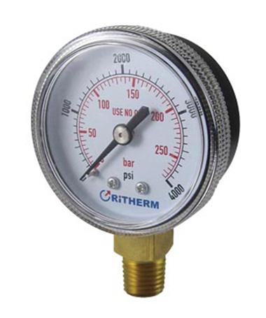 1112 Acetyele pressure gauge