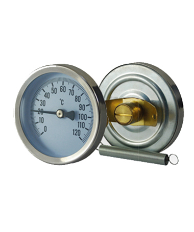 2306 Radiator pipe  thermometer with spring