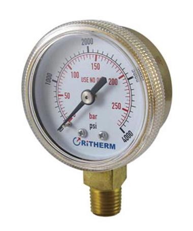 1114 Welding and cutting  pressure gauge