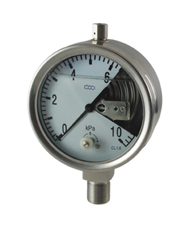 1420 Liquid filled capsule  low pressure gauge