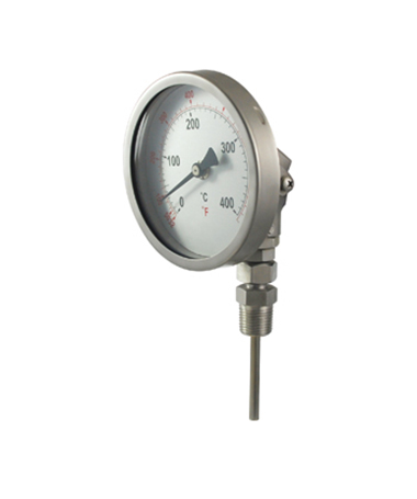 2322 All stainless steel  bimetal thermometer