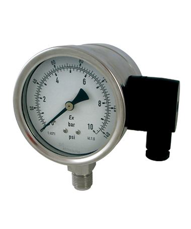 1750 Explosion proof pressure  gauge with 4-20mA output