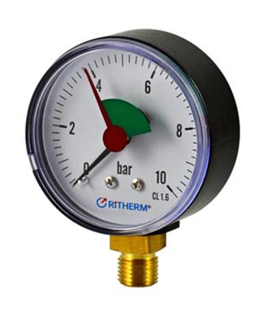 1131 HVAC pressure gauge