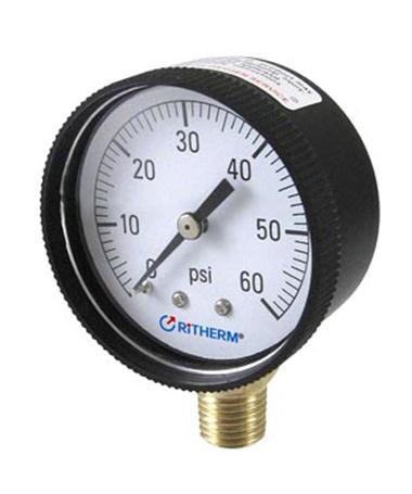 1132 Swimming pool pressure gauge
