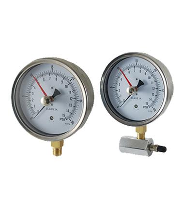 1445 Gas test diaphragm gauge