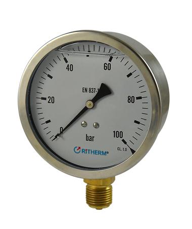 1201 Hydraulic pressure gauge