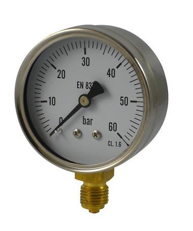 1102 Dry or utility pressure gauge