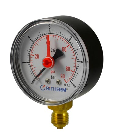 1106 Dry pressure gauge with record
