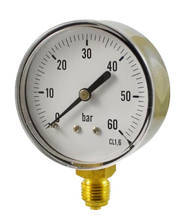 1107 Pressure gauge for regulator