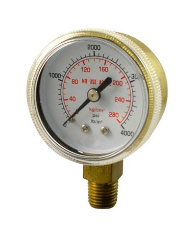 1113 Pressure regulator pressure gauge