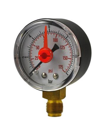 1134 Plastic case pressure  gauge with record