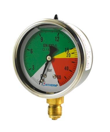 1200R Isometric pressure gauge