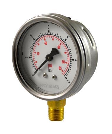 1213 Hydraulic pressure gauge