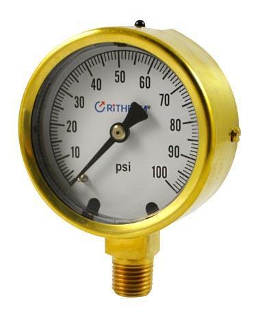 1253 Mining pressure gauge